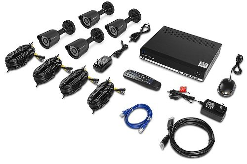 Amcrest 960H video security system set.