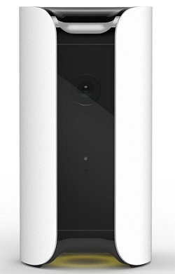Canary All-in-One home security device.