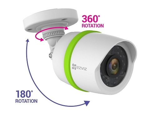 Single ezviz video security camera