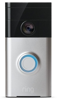 Ring wi-fi enabled video doorbell.