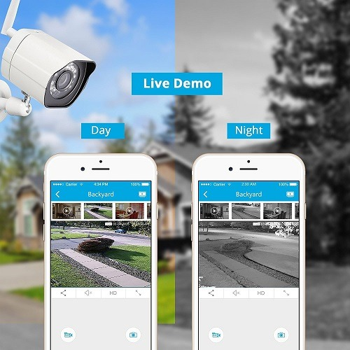 Zmodo Smart Wireless Security Cameras