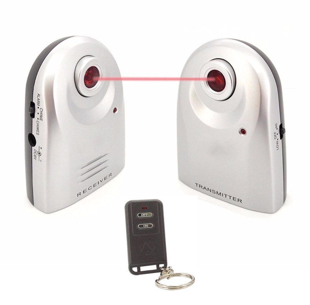 Laser Security System Protect Your Home Like A Top Secret Government Facility on motion detector alarm sound