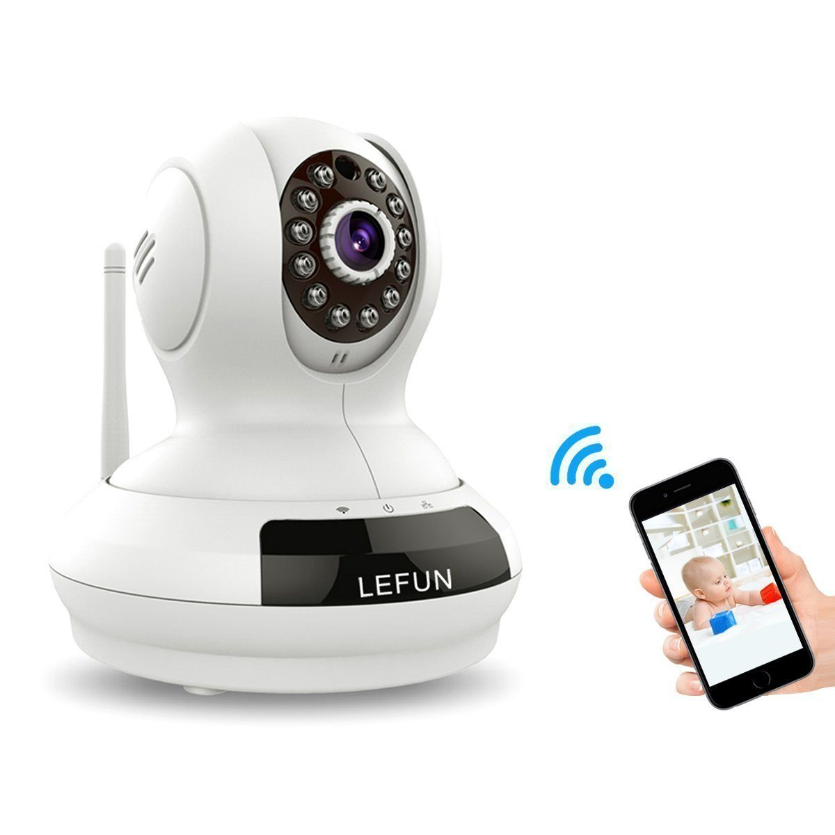 LeFun Wireless WiFi IP Camera