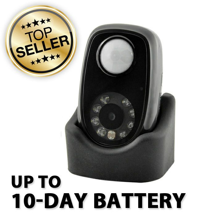 Motion Activated Night Vision Mini Spy Camera