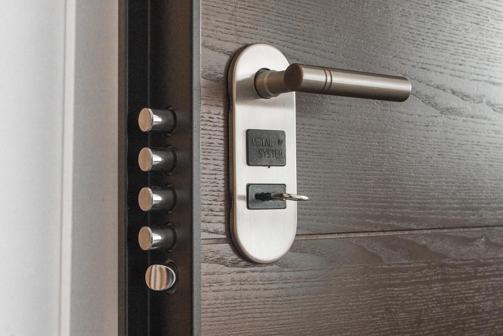 front door security lock